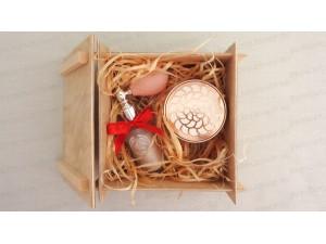 Разборные коробки для подарков - 15 х 15 см
