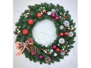 Новогодние венки, рождественские веночки – своими руками