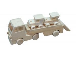 Сувенирные модели грузовиков из дерева