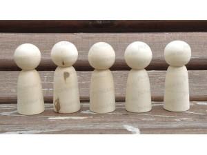 """Деревянные заготовки для росписи (куколки-болванчики) - """"Мама"""""""