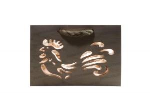 Фанерные коробки для подарков с нанесением рисунка (сквозное фрезерование, гравировка)