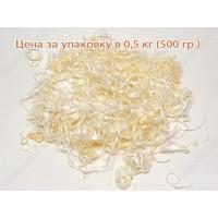 Стружка СОСНОВАЯ декоративная – цена за упаковку 0,5 кг (розница, минимальный заказ - 500 гр.)