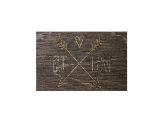 Коробка для свадебных фотографий из дерева с гравировкой